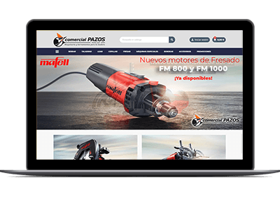 Tienda online PrestaShop - Mafelltiendaonline portada