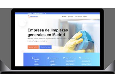 Diseño web LimpiezaEsVida