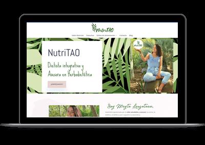 Diseño web Nutritao